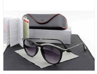 Wholesale New hot Women s Designer Oculos Erika Sunglasses Glasses With Box Case Colors To Choose
