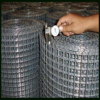 Wholesale Square Wire Mesh Welded With Redrawing Wire Galvanized Wire PVC Coated Wire Or Stainless Steel Wire Material