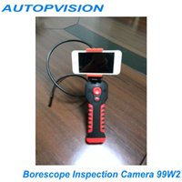 Wholesale NEW P Wifi Borescope Inspection Camera W2 Support IOS Andriod and Windows System Waterproof Endoscope Mini Camera
