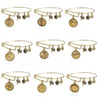 ancient series - New Alex and Ani bracelets Sunshine Beach Series Ancient gold silver DIY charm bracelets bangle cuff for women jewelry