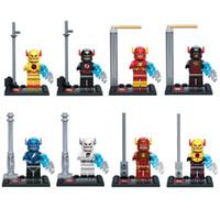 Wholesale 480pcs Avenger Super Hero Flash Minifigure SY269 minifigures figures