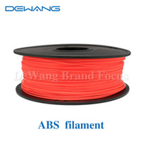 abs production - DeWang R Red ABS Filament Production Line for d printing kg Roll Consumables order lt no track