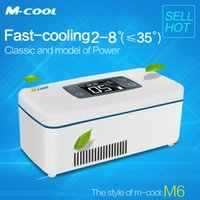 Wholesale M cool small refrigerator travel medical product small refrigerators usb mini fridge M6