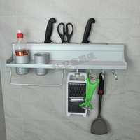 Wholesale Space aluminum kitchen accessories Spice Rack cm knife with a hook racks Binoculars