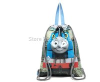 Wholesale Water Proof Coated Polyester Storage Bags for Shoes and Clothing with D Cartoon Design Storage Bags for Kids