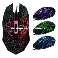 Wholesale New Arrival optical mouse DPI Button LED Optical USB Wired Gaming Mouse Mice computer mouse For Pro Gamer