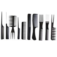 air hair combs - New China Post Air Mail Professional Salon Hair Comb Set set good for barber