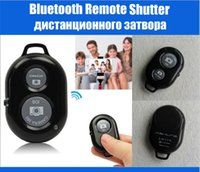 Wholesale Android Camera Bluetooth Remote Control Shutter Monopod Self timer for iphone ipad samsung S4 NO Battery Good Quality