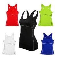 fitness tank tops - Sports Vest For Women Fitness Sportwear Shirt Yoga Jogger Tank Top Sport Quick Dry Tops Running T shirt Plus Size XXL