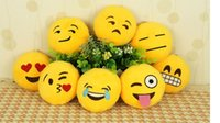 Wholesale 10 cm Novetly Emoji Small Pendant Smiley Emoticon Soft Plush Toys Key Bag Chain Special Unique Gift