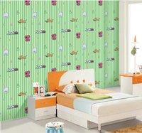 self adhesive vinyl wallpaper - 10M D Embossed Cartoon Dog Pattern Children s bedroom Backdrop Self Adhesive Wallpaper Waterproof Fresco Vinyl Wall Painting