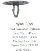 auto toyota celica - 100pcs hood insulation retainer For Toyota Celica plastic clip auto fastener clip M49548