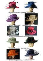 Kentucky Derby Hats church hats - Sinamay hat church hat sell in mix style for races party and wedding BY EMS