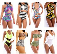Cheap One Pieces triangl swimwear Best Polyester As the picture monokini