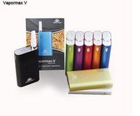 Wholesale Multi colors Vapormax V5 V5 Flowermate portable handle BOX MOD V FLOWERMATE vapormax V5 pen VS Davinci VS1