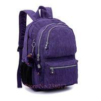 basic backpack - Basic mochila kiple original backpack waterproof nylon cloth bag M