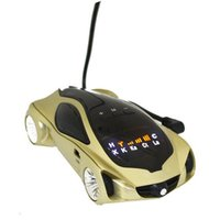 Wholesale high quality Russian English Version Degree car radar detector for police radar with retail package dhl free