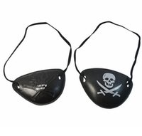 Wholesale 50pcs Halloween fancy dress party props pirate party supplies pirate goggles cosplay goggles order lt no track