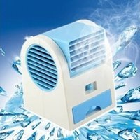 Wholesale New Hot Selling Computers USB or Battery Mini Portable Bladeless Air Conditioning Fan