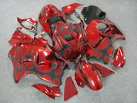 abs molding - Red Injection molding custom painted fairing Suzuki Hayabusa GSX1300R