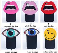 apple penguin - Luxury Korea cute D cartoon monroe sexy lips big eye smiling face penguin soft silicone case For iphone s c s plus splus