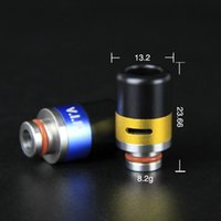 Wholesale 2015 Newest Stainless Steel plus Resin Drip Tip Drip Tips Wide Bore E Cigarette Mouthpiece for RDA RBA Atomizer Vaporizer