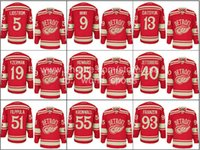 Wholesale Cheap Detroit Pavel Datsyuk Henrik Zetterberg Niklas Kronwall etc Winter Classic Red Wings Nhl Ice Hockey Stitched Jerseys