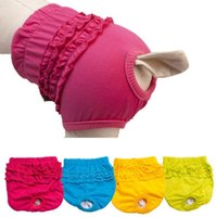 Wholesale CutePet Dog Diapers Pants Comfortable Cosy Pet Girl Female Dog Cotton Tighten Strap Sanitary Physiological Panty Pet Underwear