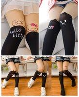 Wholesale New Arrivals Chrildern Kid s Girl s Dance Stockings Tights Pantyhose Hosiery Socks Velvet Nylon Cute Pattern KA76