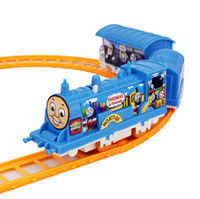 battery operated toy train set - Small electric rail train toys Train Railway Train Play Set battery operated Toys Gifts