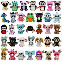 beanie collection - Ty Beanie Boos Big Eyes Small Unicorn Plush Toy Doll Kawaii Stuffed Animals Collection Lovely A wide variety of styles W237