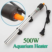 Wholesale The Best Quality W Stainless Steel Adjustable Automatic Aquarium Fish Tank Water Temperature Thermostat Heater