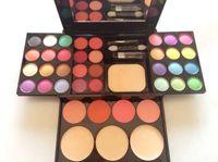 compact powder makeup - 39 color beginner makeup set whole set Powder Blush Eyeshadow makeup compact Makeup Palette genuine