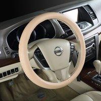 animal steering wheel cover - 3D stereoscopic animal print leather steering wheel cover slip sweat factory direct goat DJM