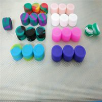 Wholesale High Quality Round Oil Concentrate Silicone Container For Bho Oil Non Sticky Silicone Jars Dab Wax Containers Ml