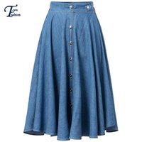 Where to Buy Long Denim Skirts Sale Online? Where Can I Buy Long ...