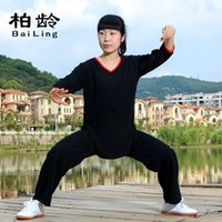 Wholesale and cotton short sleeved summer clothes seven martial arts clothing ladies sleeve sportswear manufacturers selling