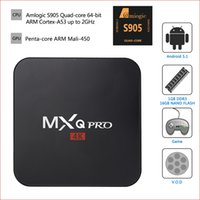 Wholesale MXQ Pro K android tv box KODI fully loaded Rockchip RK3229 Quad Core HD P bit Streaming Media Player