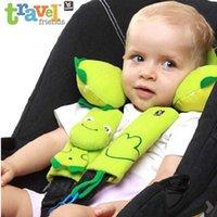 Wholesale baby boy girl car neck pillow Children Benbat baby infant car wear seat belt pad injury cases children car seat belt pad