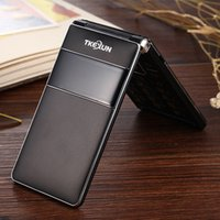 big screen cell phone - Unlocked Russian FM Touch Screen flip big key voice king mAh Dual sim card senior mobile cell phones for old people T01 P460