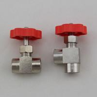 angle needle valve - Right Angle needle valve needle valve needle valve connected to the inner brass screw type gas flow control valve pneumatic comp