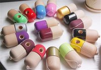 Wholesale Pill Shape Kendama Ball Toy Funny Bahama Traditional Wood Game Toy Skills cup Kendama Ball Children Educational Toy Adult Toy