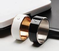 Wholesale Smart R I N G Smart Electronics Smart Glasses Spy glasses with Black Gold Ring Tanzanite