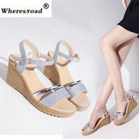 2018 Wheresroad Ladies High Heels Wedding Shoes Gold Bottom Casual Sandals  Bridal Shoes Fashion Sneakers Women Pumps Dress Shoes df7b8342a804