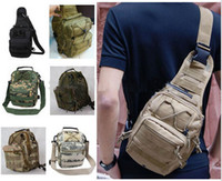 Wholesale Single Shoulder Bag Tactical Fly Fishing Camping Equipment Outdoor Sport Nylon Wading Chest Pack Cross body Sling