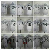 beckham white sox - White Sox Alexei Ramirez Gordon Beckham Frank Thomas Melky Cabrera Mens Baseball Jersey CHEAP WHITE PINSTRIPE