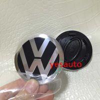 Wholesale 63mm LR Wheel Center Cap with VW badge Emblem Logo RR Overfinch
