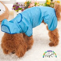 Wholesale Nylon pet raincoat clothes rain coat for small dogs dog clothes yorkie clothes for puppies products for animals WX06