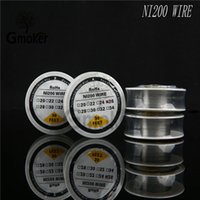 Wholesale RoHs Ni200 Wire heating resistance coil wick Feet Spool AWG Gauge For Ecig vs Pure Nickel Ni200 Wire