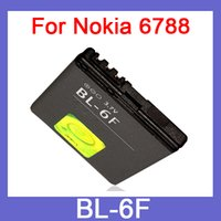 Cheap 1200mah replacement battery for Nokia BL-6F BL6F 6788 N78 N79 N95(8G) phone battery akku factory wholesale